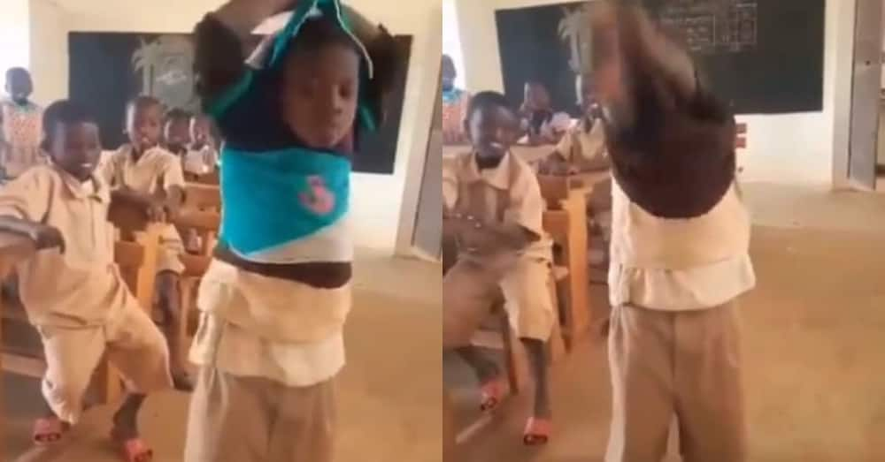 Hard boy wears 8 shirts to 'vaccinate' himself against lashes; asked to remove all