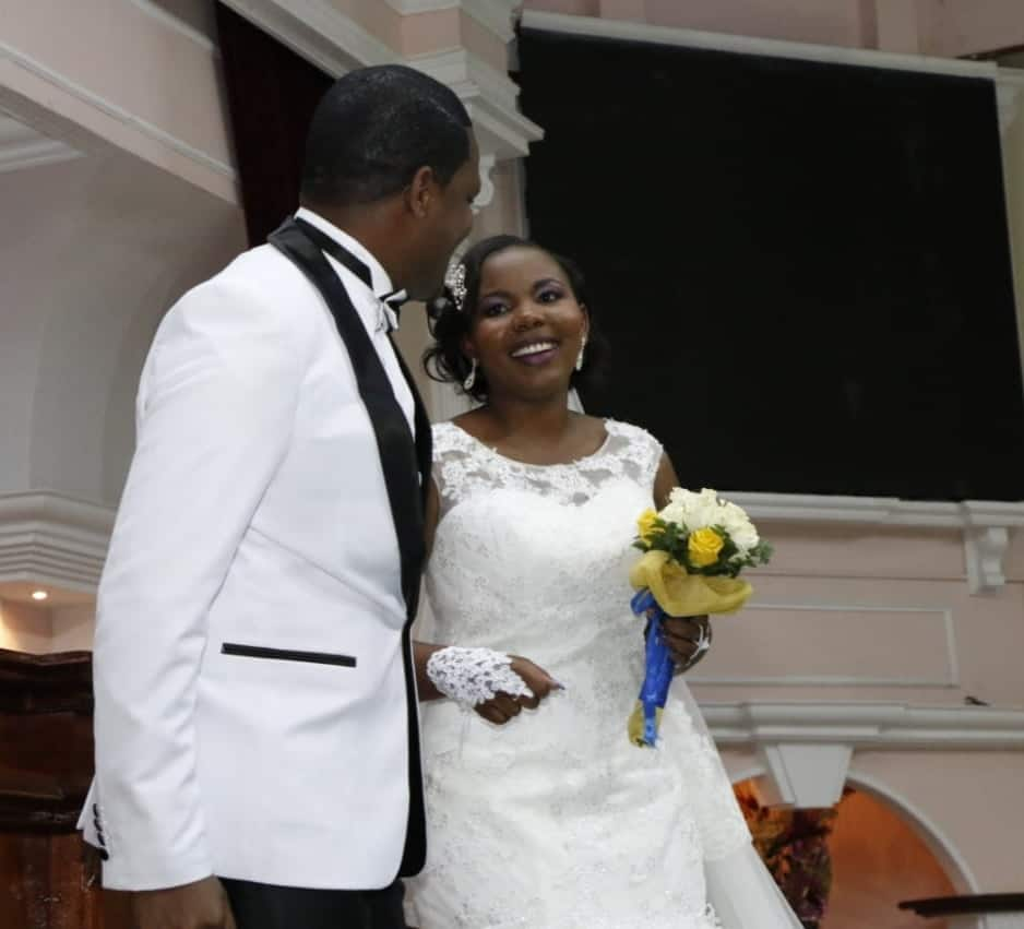 Kenyan man celebrates 4th wedding anniversary with woman he met on Facebook