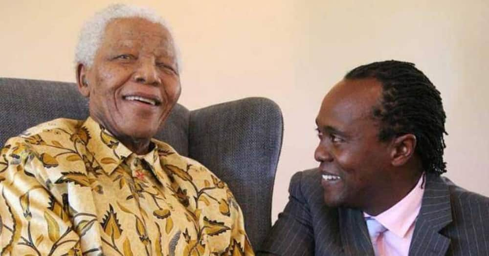 Jeff Koinange recalls changing son's diapers before introducing him to Nelson Mandela