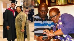 Kabogo's hot son celebrates mum's birthday with beautiful mother-son tbts