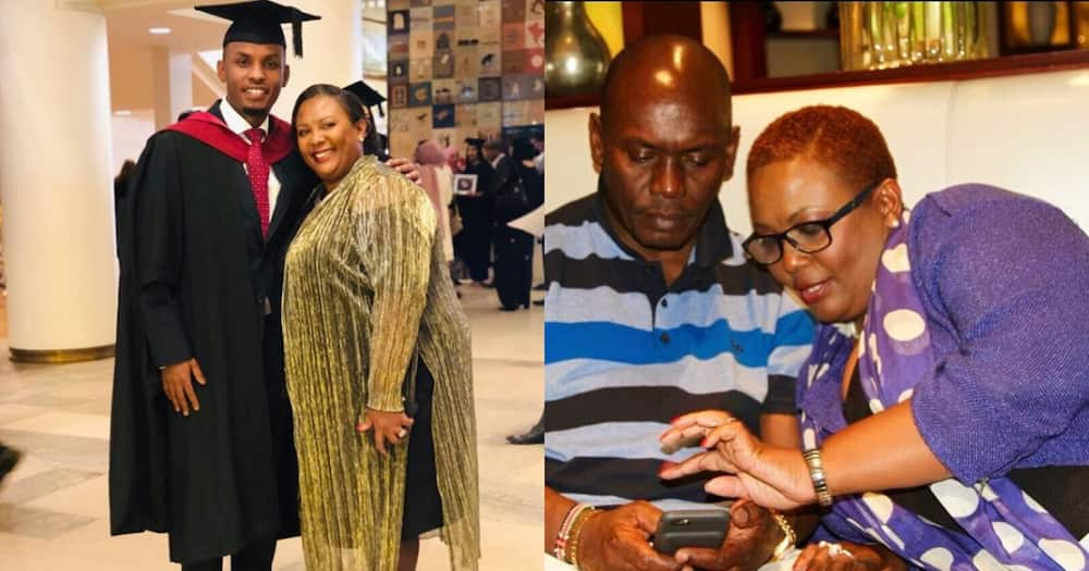 Kabogo's hot son celebrate's mum's birthday with beautiful mother-son TBTs