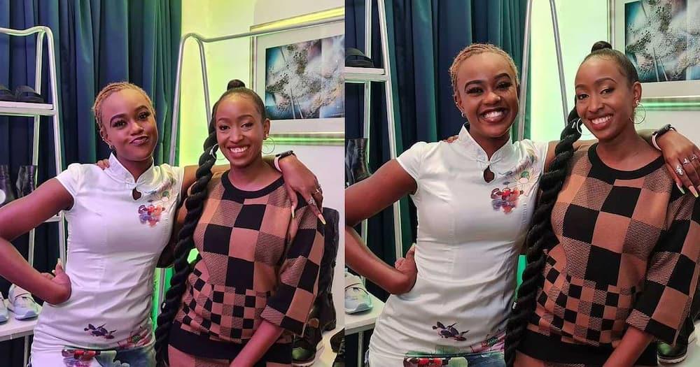 My Most Expensive Shoes Cost KSh 11k, Janet Mbugua Tells Azziad Nasenya