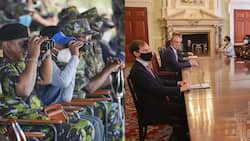 Uhuru Kenyatta Signs Defence Cooperation Agreement with UK to Tame Terrorism in East Africa