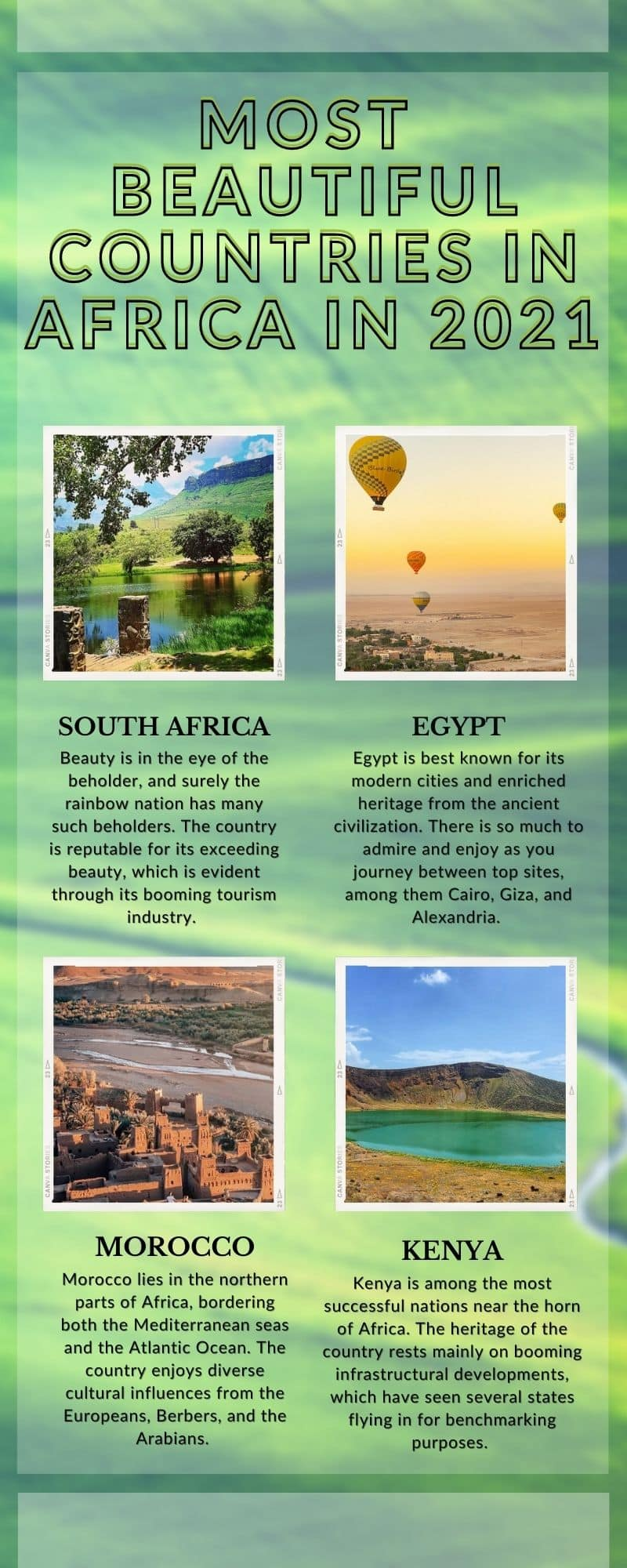 most beautiful countries in Africa