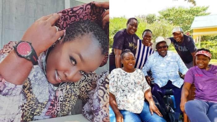 Muimbaji Emmy Kosgei achapisha picha tamu ya wazazi wake na ndugu zake
