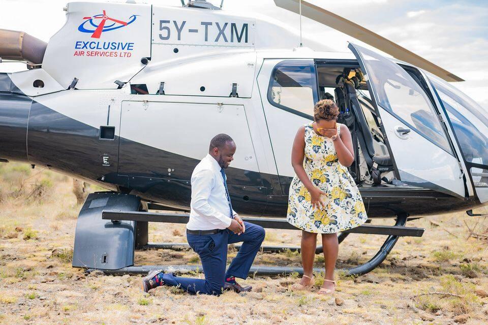 Donge la penzi: Mwanasiasa Meshack Kimutai aomba ndoa kwa njia spesheli