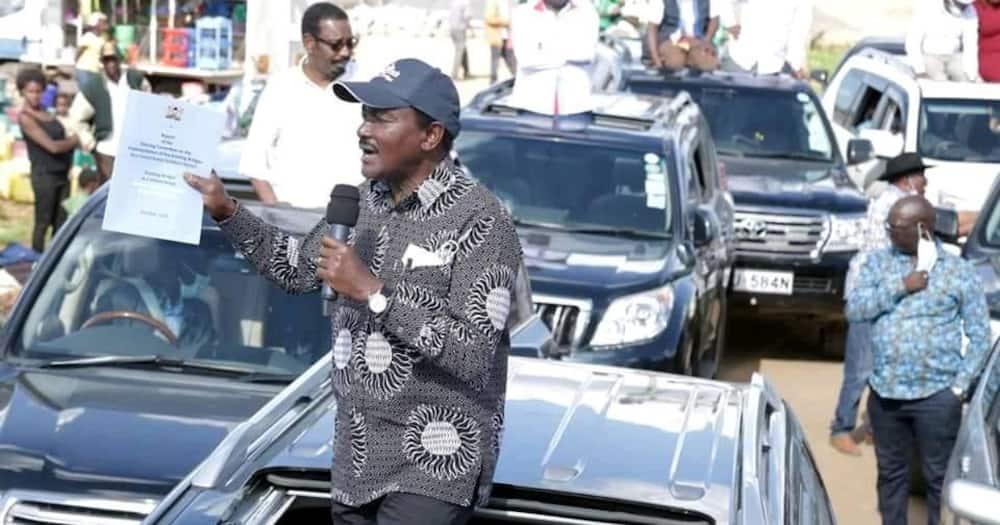 Wakazi wa Nyeri wakosa kumskiza Kalonzo, waliimba jina la DP Ruto
