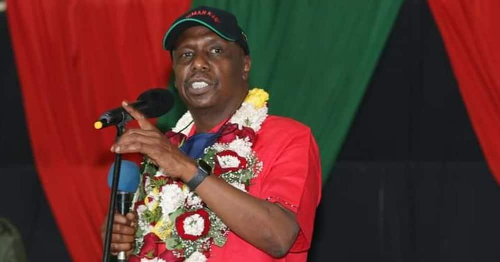 KANU party leader Gideon Moi. Photo: KANU party.
