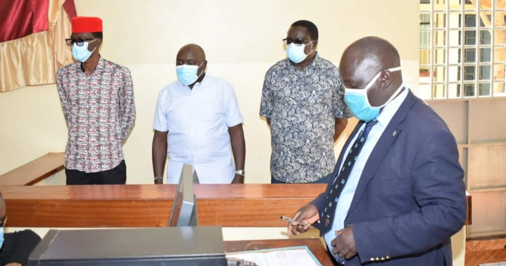 Senator Cherargei, 3 MPs in Bungoma Court for Causing Election Chaos, Refusing to Have Fingerprints Taken