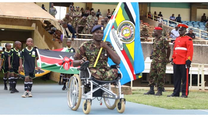 KDF Soldier Who Lost Both Feet in Somalia Refuses to Quit, Encourages Colleagues to Be Resilient