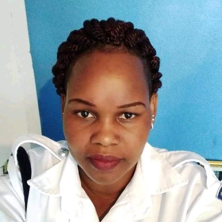 Caroline Kangongo is a Nakuru-based cop.