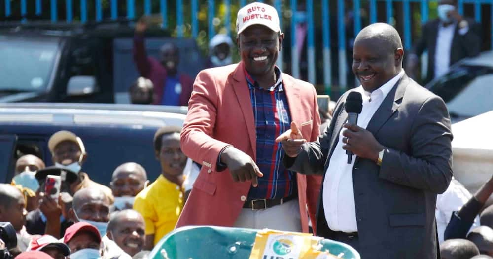 Isaac Rutto reconciles with William Ruto in another handshake ahead of 2022