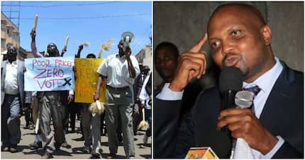 Moses Kuria disputes maize farmers' demand for better prices, says they want to blackmail Uhuru