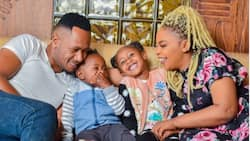 Size 8 Shares Cute Family Photo, Says It's Testimony of God's Greatness