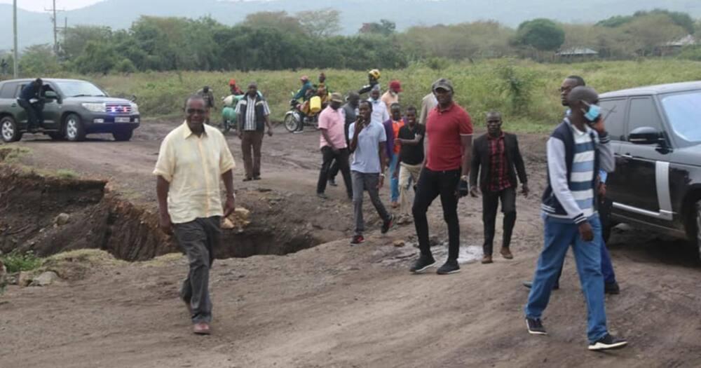 Kidero aingia ground Homa Bay, wanaomezea mate kiti cha gavana waingiwa na wasiwasi