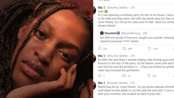 Woman narrates organising birthday party for lover only for his other girlfriend to show up