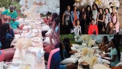 Sauti Sol's Bien Serenades Wahu's Daughter Tumiso at Her Picnic Themed Birthday Party