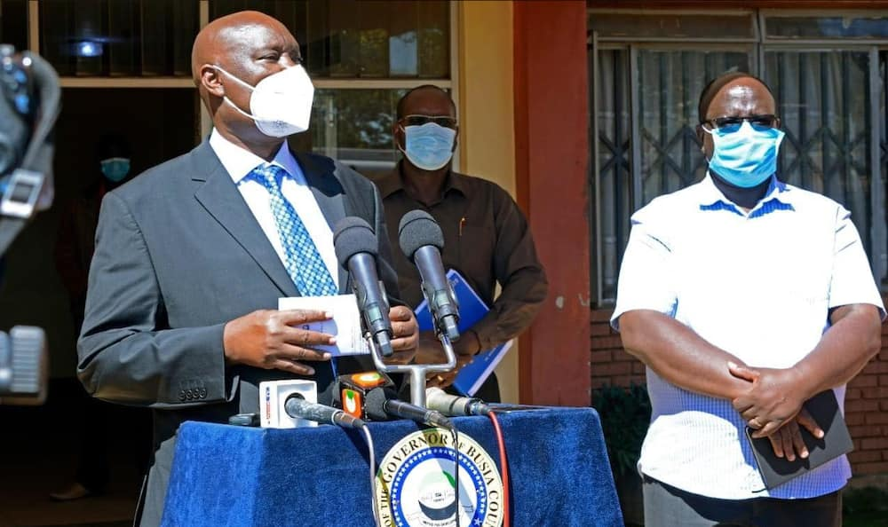 Governor Ojaamong tells health workers to 'perservere', wait for BBI to pass