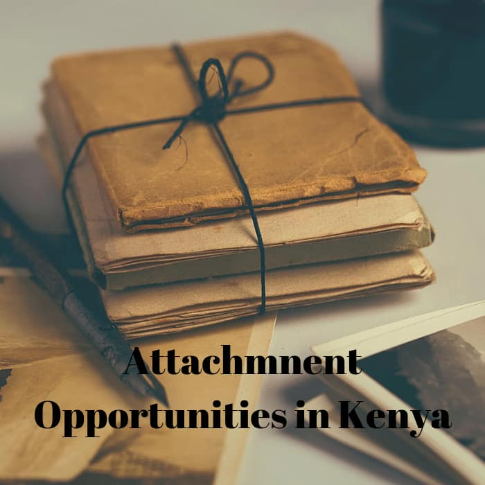Companies offering attachments in Kenya in 2019