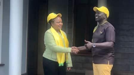 "Mixed Reactions as Anne Waiguru Ditches Uhuru's Jubilee for William Ruto's UDA: ""Wanaendana"""