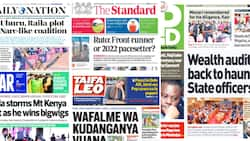 Kenyan Newspapers Review For October 18: Uhuru, Raila Arranging a 2002 Narck-like Coalition to Win in 2022