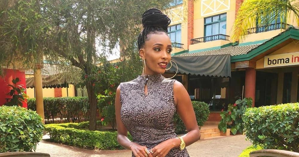 "TV host Joyce Maina denies dating DJ Mo: ""I'm not dumb to post a married man"""