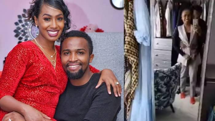 Pascal Tokodi, Wife Grace Ekirapa Display Enviable Romance while Giving Fans View of Stunning Walk-In Closet