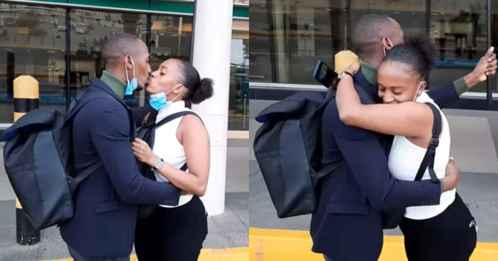 Bebe and Nairofey are in a long-distance relationship. Photo: Nairofey/YouTube.