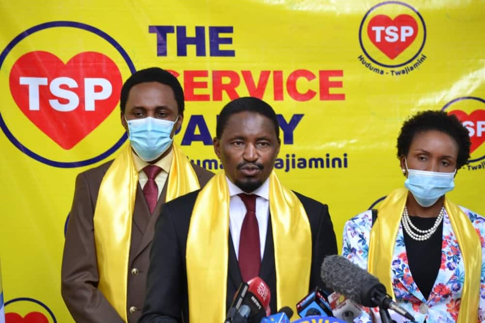 The Service Party: Ex CS Mwangi Kiunjuri launches new outfit ahead of 2022 contest