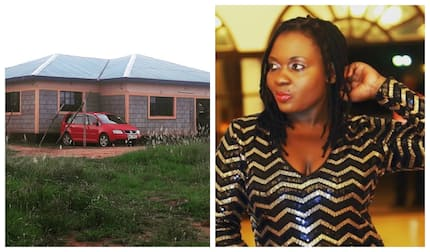 Singer Nyota Ndogo flaunts multi-million house she built after government demolished previous house over SGR