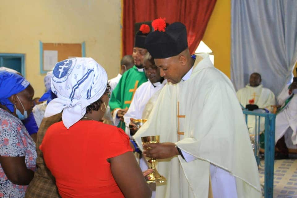 Polygamous radio presenter Muthee Kiengei ordained as AIPCA church pastor