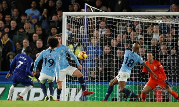 Chelsea beat Manchester City 2-0 at Stamford Bridge
