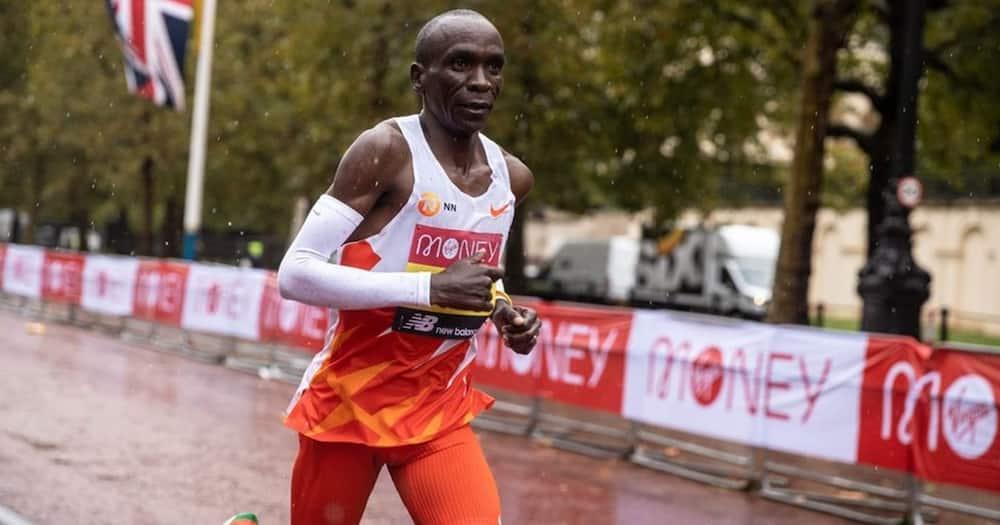 London Marathon: Eliud Kipchoge returns home after underwhelming performance