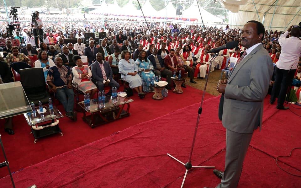DP Ruto amkaribisha Kalonzo ndani ya Jubilee