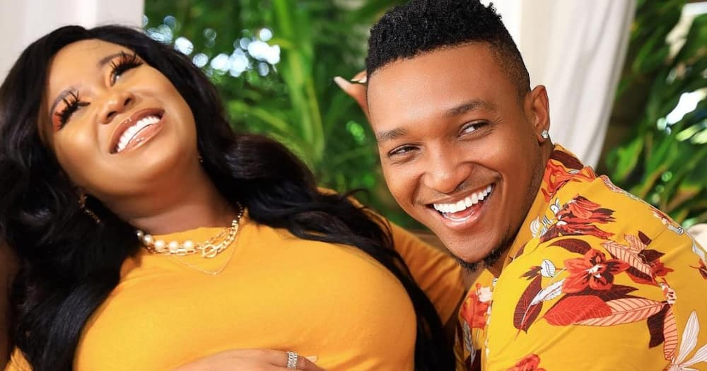 Vera Sidika says Brown Mauzo helped her quit alcohol.