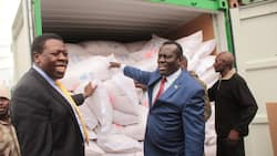 China yaipa Kenya msaada wa magunia 200,000 ya mchele