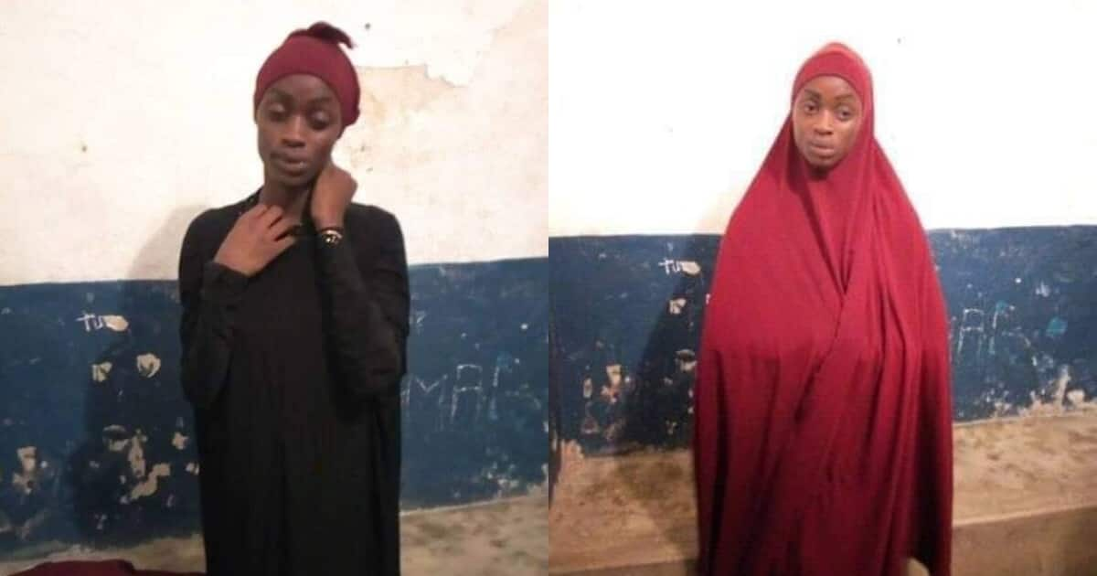 Image result for Makueni man arrested in Lamu while wearing Muslim female clothes complete with a bra