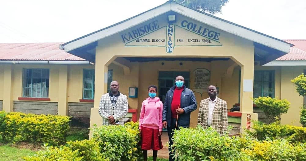 Maureen Chepngeno is now a student at the Kabisoge Technical and Vocational Training Institution.