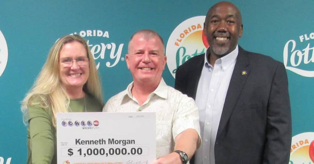 Kenneth Morgan Found KSh 107 Million Winning Lotto Ticket while Cleaning House