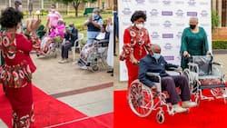 Malawian First Lady Monica Chakwera Joins Margaret Kenyatta in Visiting, Offering Donations to Elderly Kenyans