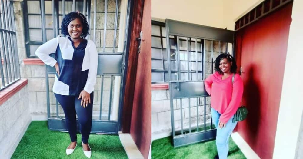 Jemutai Shows Off Her Huge Television, House Interior After Drama with Hamo