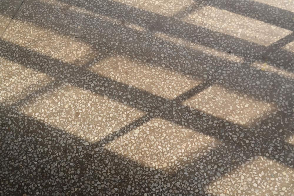 How do you get stains out of terrazzo floors