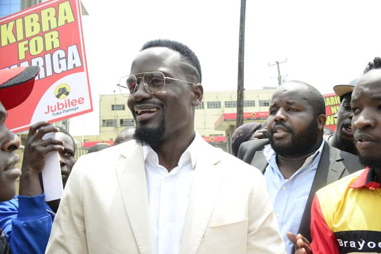 Kibra by-election: Jubilee candidate McDonald Mariga cleared to vie