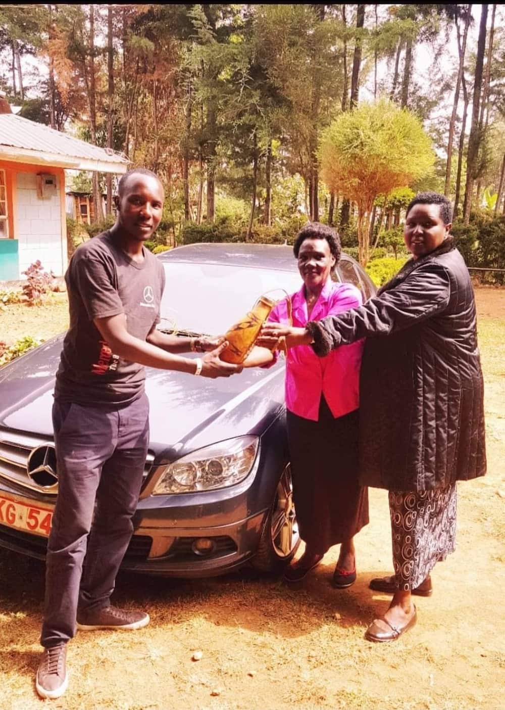 Alfred Koech: Kenyan in Australia Rewards Mother with Mercedes for her Sacrifices for Him