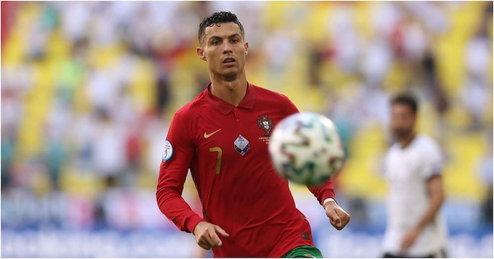 Cristiano Ronaldo for Portugal in Euro 2020