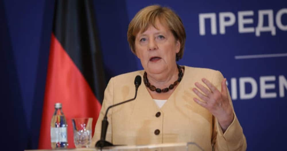 Germany Chancellor Angela Merkel. Photo: Getty Images.