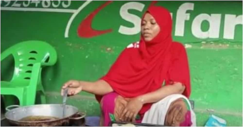 Former Lamu MCA Khadija Mohammed now selling street food, says she's happy