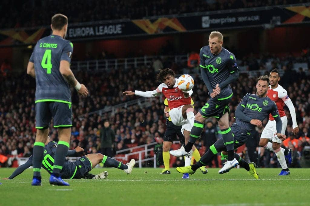 Europa League: Arsenal and Sporting Lisbon settle for goalless draw at the Emirates