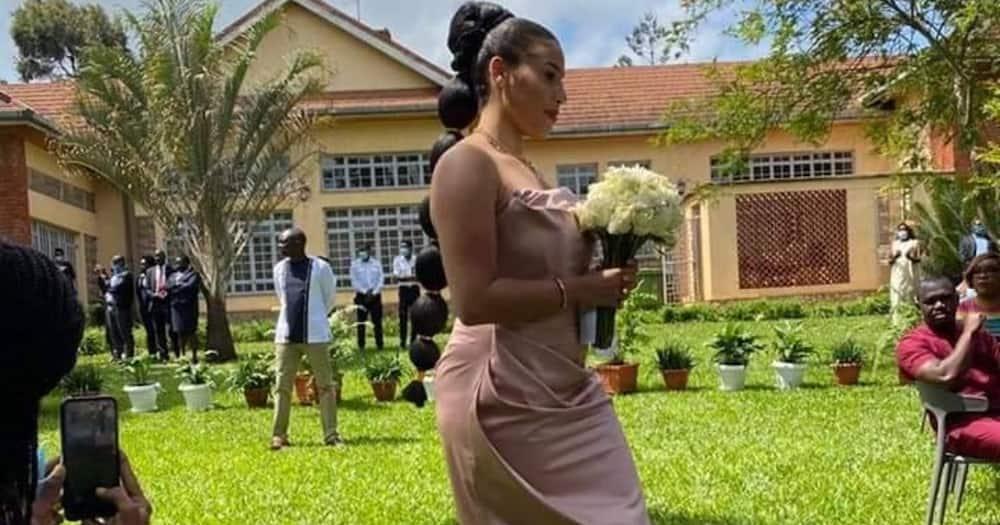 William Ruto's family sticks to simple, elegant decor during June's wedding
