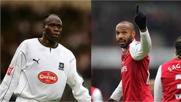 Thierry Henry Includes African Football Icon Among Toughest Opponents He Faced In His Career